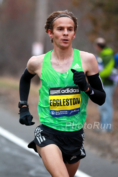 Jeffrey Eggleston at the 2015 Boston Marathon