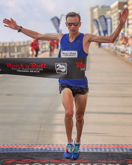 Jeffrey Eggleston Rock 'n' Roll Virginia Beach Half Marathon