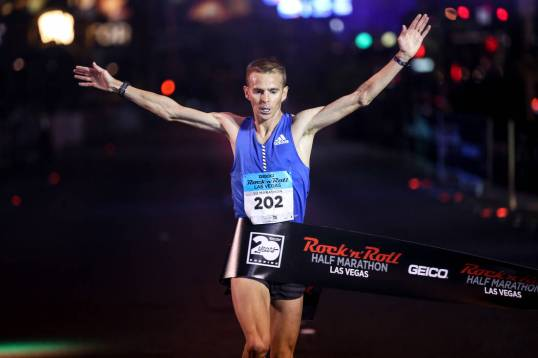 Jeffrey Eggleston 2017 Rock 'n' Roll Las Vegas Half Marathon